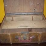 valiză lemn
